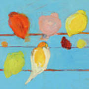 Birds Print by Laurie Breen
