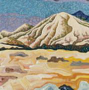 Birdseye Landscape #5 Art Print
