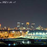 Birmingham Airport ,skyline Art Print