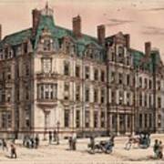 Birmingham And Midland Eye Hospital United Kingdom 1882 Art Print by Payne and Talbot