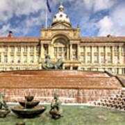 Birmingham City  Town Hall  Art Print