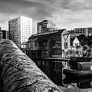 Birmingham Waterway Art Print