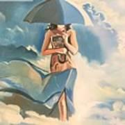 Birth Of Air And Water Art Print