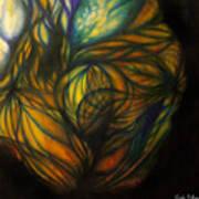 Birth Of Light Art Print