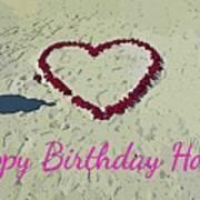 Birthday Card For Lover Art Print