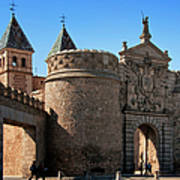 Bisagra Gate Toledo Spain Art Print by Joan Carroll