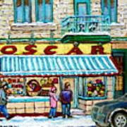 Biscuiterie Oscar Rue Ontario Art Print