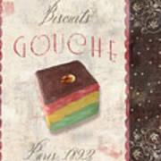 Biscuits Gouche Patisserie Art Print