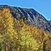 Bishop Creek Mountains Art Print