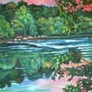 Bisset Park Rapids Art Print