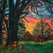 Bisset Park Sunrise Art Print