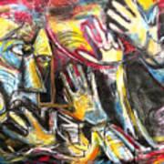 Bite The Hand That Feeds  Art Print