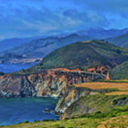 Bixby Bridge 1 Art Print