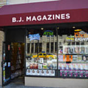 B.j. Magazines New York Art Print