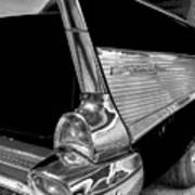 Black And White Bel Air Art Print