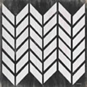 Black And White Quilt Art Print
