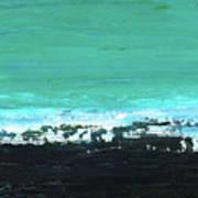 Black Beach Art Print
