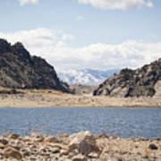 Black Canyon View - Pathfinder Reservoir - Wyoming Art Print