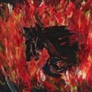 Black Fury Art Print