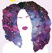 Black Girl Magic Sparkle Art Print