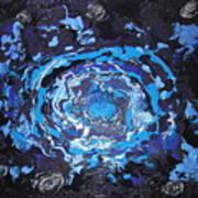 Black-hole Blues Art Print