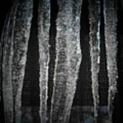 Black Ice Art Print
