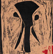 Black Ivory Issue 1 Woodcut Art Print