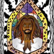 Black J C Art Print