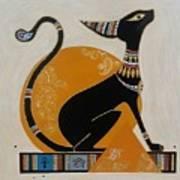 Black Kitten Art Print
