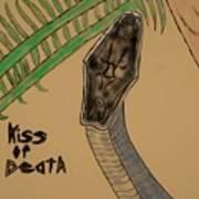 Black Mamba-kiss Of Death Art Print