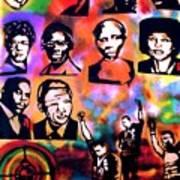 Black Revolution Art Print by Tony B Conscious