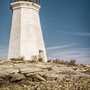 Black Rock Harbor Lighthouse II Art Print