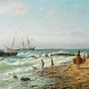 Black Sea Coast Art Print