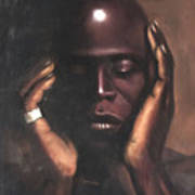 Black Thought Art Print