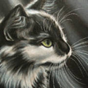 Black-white Art Print