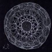 Black Zen 2 Art Print