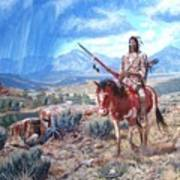 Blackfoot Warrior Art Print