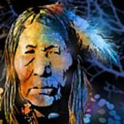 Blackfoot Woman Art Print