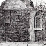 Blackfriars Chapel St Andrews Art Print