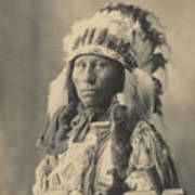 Blackheart Ogalalla Sioux Art Print