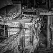 Blacksmith Bench Art Print