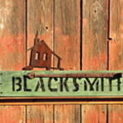 Blacksmith Sign Art Print