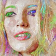 Blake Lively Watercolor Art Print
