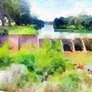 Blanco River Art Print
