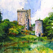 Blarney Castle Landscape Art Print