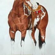 Blazing Saddles Art Print