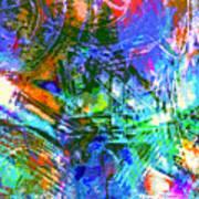 Bleached Vibrance Art Print