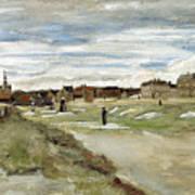 Bleaching Ground At Scheveningen Art Print