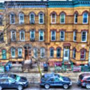 Bleecker Street In Bushwick - Brooklyn Art Print