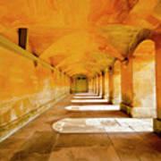 Blenheim Arches Art Print